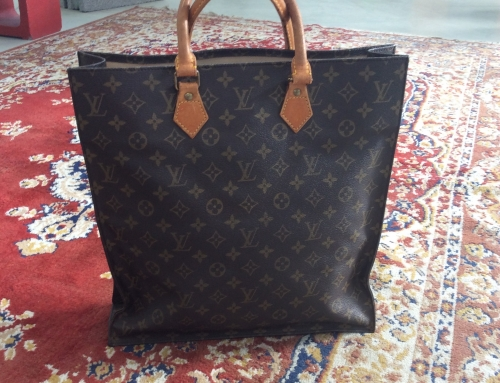 LOUIS VUITTON sac plat tote  €550